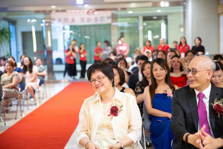 圖3 清福養老院為了提升長照人員的工作幸福感,於107年開始創辦「照護金福獎表揚大會」,為台灣長照界首創之長照人才頒獎盛事。
