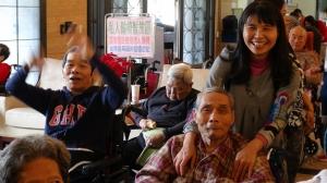 家屬和長輩共享的歡樂時光